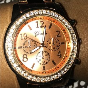 Crystals Geneva Watch